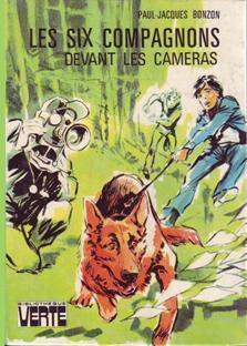 Les six compagnons devant la caméra