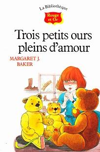 Trois petits ours pleins d'amour