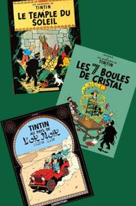 Les aventures de Tintin – 3 volumes – 12, 13 et 14